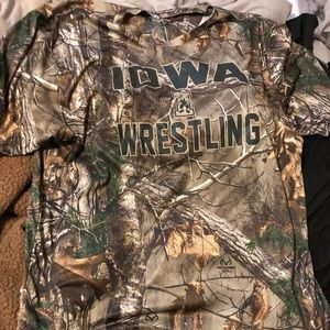 Iowa wrestling camp shirt